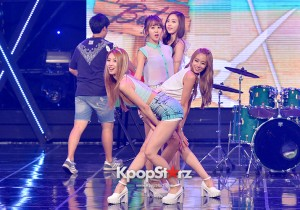 BESTie [Hot Baby] at MBC Music Show Champion