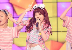 HEYNE [RED LIE] at MBC Music Show Champion