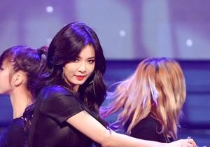 Hyun A [A Talk + Black List + Red] at MBC Music Show Champion