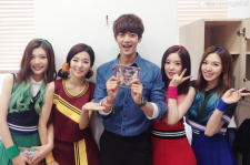 Minho and Red Velvet