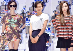 Gain, Kim Na Young and Nam Gyu Ri Attend Adidas Originals Flagship Store Opening Event