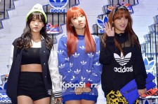 Rainbow Attends Adidas Originals Flagship Store Opening Event