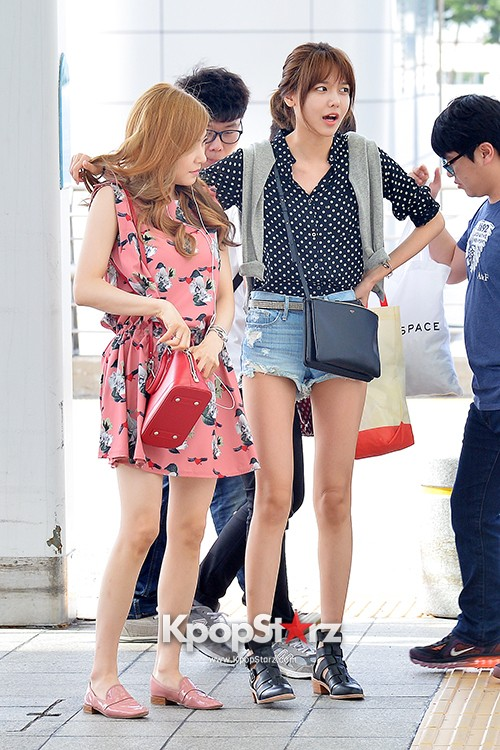 Girls Generation at Incheon International Airport Heading to Hong Kongkey=>8 count43