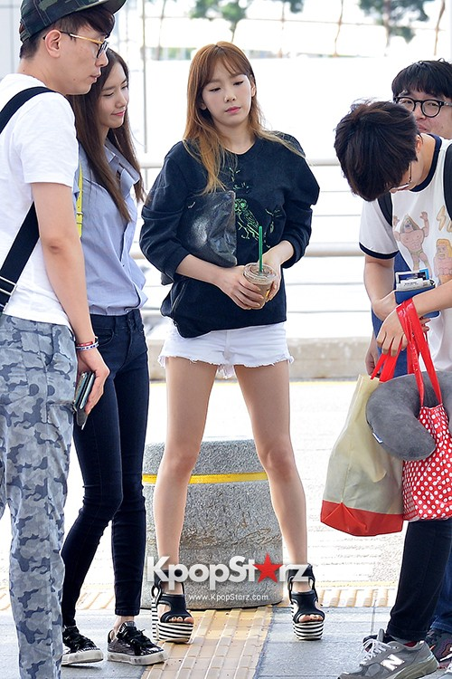 Girls Generation at Incheon International Airport Heading to Hong Kongkey=>10 count43
