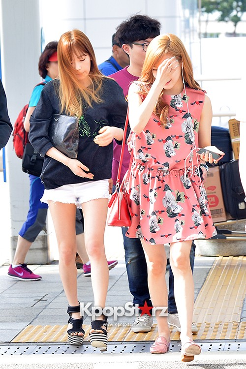 Girls Generation at Incheon International Airport Heading to Hong Kongkey=>17 count43