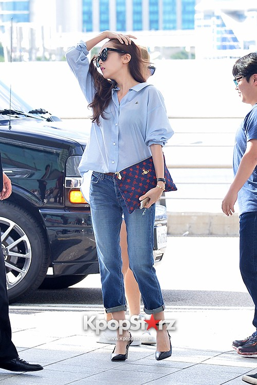 Girls Generation at Incheon International Airport Heading to Hong Kongkey=>18 count43