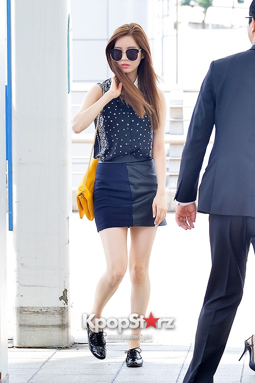 Girls Generation at Incheon International Airport Heading to Hong Kongkey=>20 count43