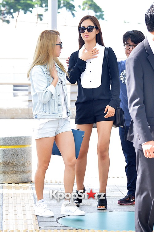 Girls Generation at Incheon International Airport Heading to Hong Kongkey=>27 count43