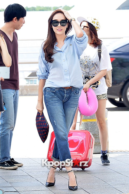 Girls Generation at Incheon International Airport Heading to Hong Kongkey=>28 count43