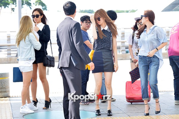 Girls Generation at Incheon International Airport Heading to Hong Kongkey=>30 count43