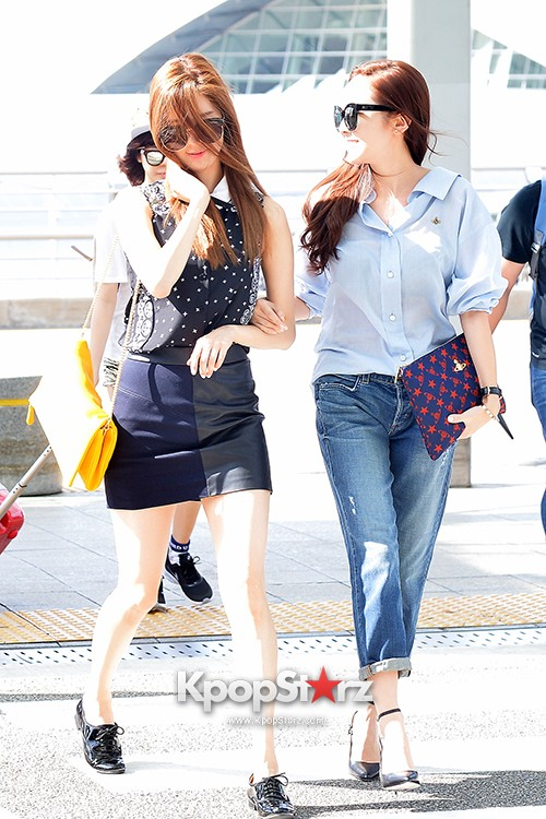 Girls Generation at Incheon International Airport Heading to Hong Kongkey=>31 count43