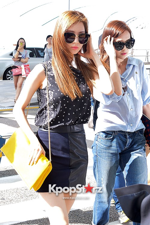 Girls Generation at Incheon International Airport Heading to Hong Kongkey=>33 count43