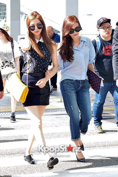 Girls Generation at Incheon International Airport Heading to Hong Kongkey=>34 count43