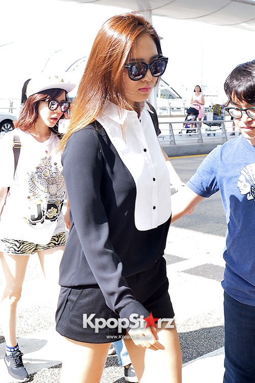 Girls Generation at Incheon International Airport Heading to Hong Kongkey=>37 count43