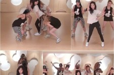 "Hyuna Releases Practice Clip Of ""Red"" Choreography"