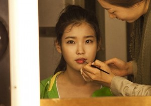 IU's Behind-The-Scene Photos of Le Coq Sportif Photoshoot