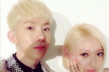 jokwon min blonde hair