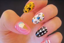 Hyuna's Ice Cream Inspired Nails