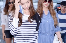 Girls Generation[SNSD] Seohyun, Sunny, Yuri, Yoona, Tiffany at Incheon International Airport Heading to LA M.NET K-CON 2014