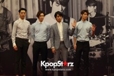 CNBLUE Attends CNBLUE Can't Stop Press Conference in Malaysia - August 8, 2014 [PHOTOS]