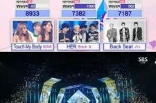 SISTAR wins on 'Inkigayo' (August 10, 2014)