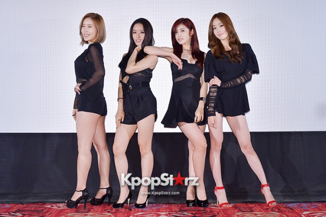 Secret Held a Press Conference for the Release of Fifth Mini Album 'Secret Summer'key=>3 count30