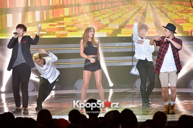 Lucky J [Can You Hear Me] at SBS MTV 'THE SHOW : All About K-pop' key=>5 count7