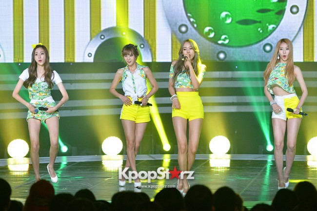 BESTie [Hot Baby] at SBS MTV 'THE SHOW : All About K-pop' key=>1 count18