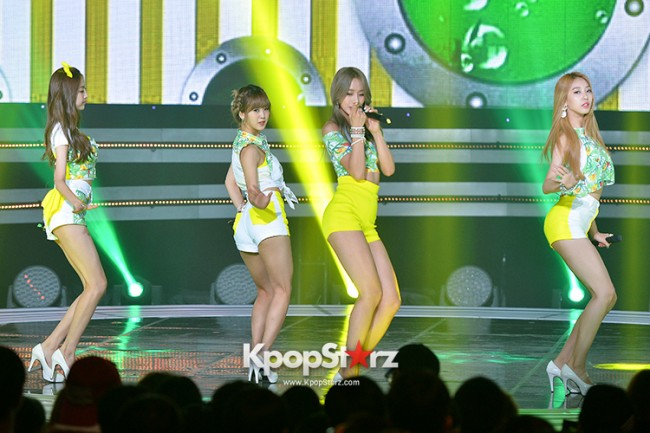 BESTie [Hot Baby] at SBS MTV 'THE SHOW : All About K-pop' key=>4 count18