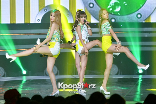 BESTie [Hot Baby] at SBS MTV 'THE SHOW : All About K-pop' key=>7 count18
