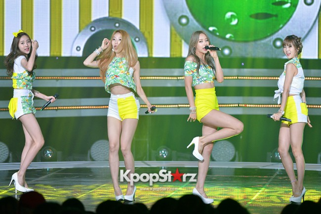 BESTie [Hot Baby] at SBS MTV 'THE SHOW : All About K-pop' key=>8 count18