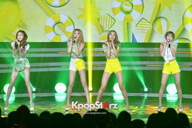 BESTie [Hot Baby] at SBS MTV 'THE SHOW : All About K-pop' key=>9 count18