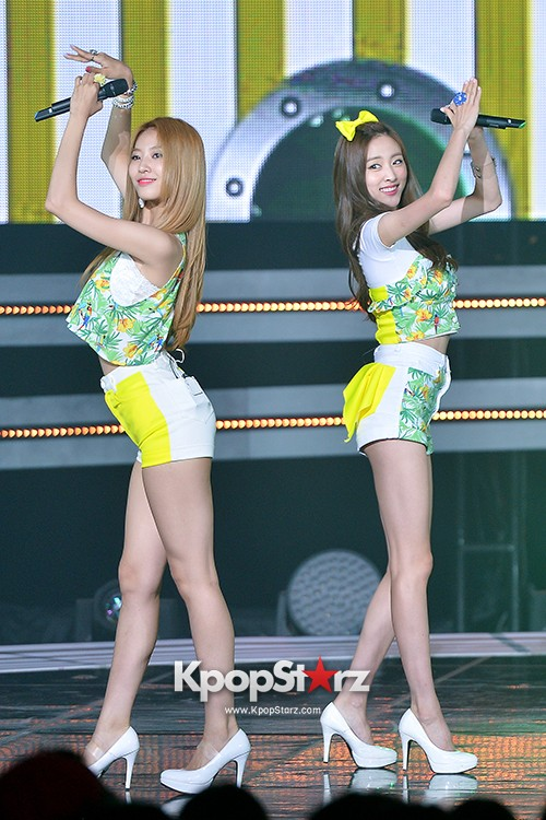 BESTie [Hot Baby] at SBS MTV 'THE SHOW : All About K-pop' key=>11 count18