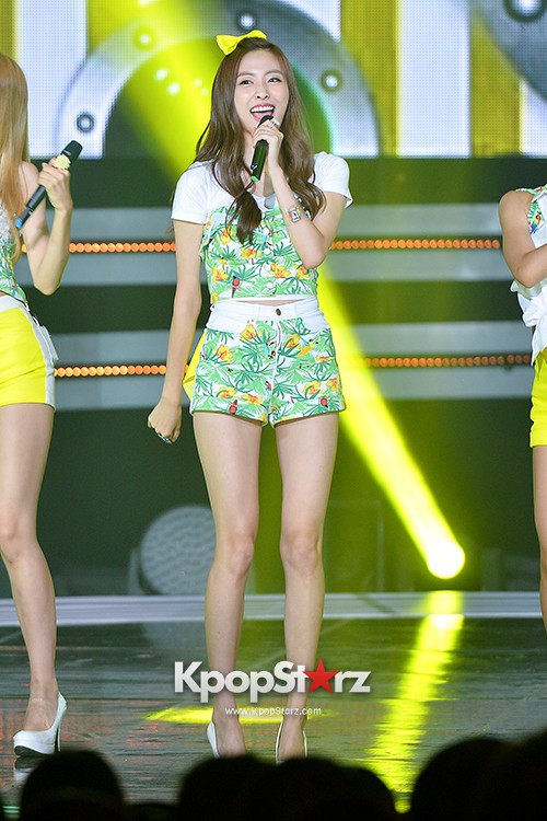 BESTie [Hot Baby] at SBS MTV 'THE SHOW : All About K-pop' key=>14 count18