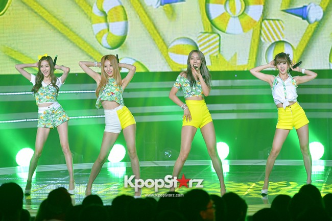 BESTie [Hot Baby] at SBS MTV 'THE SHOW : All About K-pop' key=>16 count18