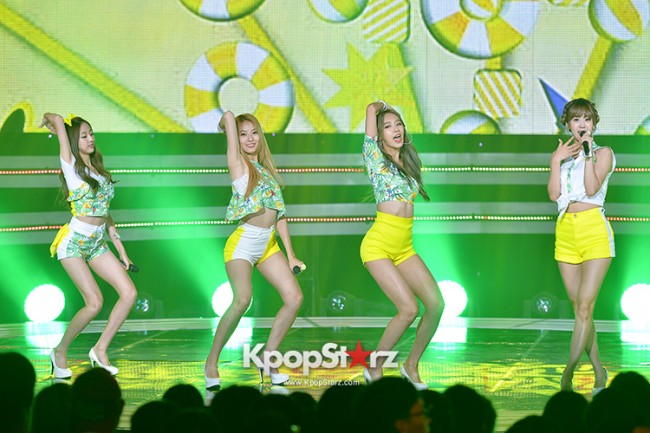 BESTie [Hot Baby] at SBS MTV 'THE SHOW : All About K-pop' key=>17 count18