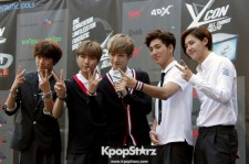 B1A4 Attends KCON Red Carpet Event in Los Angeles- August 9 2014 [Photos]