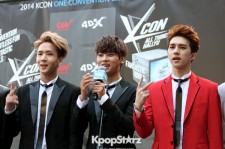 VIXX Attends KCON Red Carpet Event in Los Angeles- August 9 2014 [Photos]