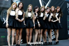 Girls' Generation were adorable for their Red Carpet appearance on Day Two of KCON.