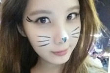 seohyun cat makeup