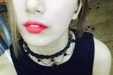 miss A Suzy Shares A Blue-Eye Makeup Selfie