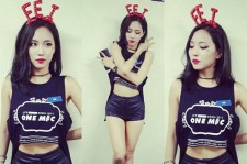 miss A Fei Shares Three Sexy Photos With Her Headband Gift