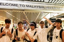 Group Boys Republic Visits Malaysia To Attend MTV's 'World Stage 2014'