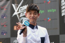 Eric Nam Hosts KCON Red Carpet Event in Los Angeles- August 9-10, 2014 [Photos]