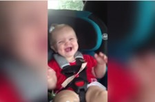 Adorable Baby Stops Crying When She Hears Katy Perry Dark Horse