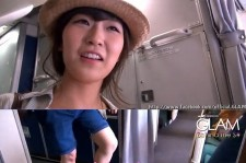 GLAM's Lee Miso Boards The Airplane As Barefoot?