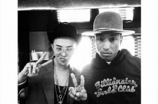 Gdragon and Pharrell