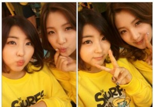 4Minute Kwon Sohyun and Nam Jihyun