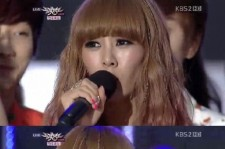 G.NA Ranks 1st Place On 'Music Bank' in Nine Months