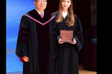 Seohyun at her graduation